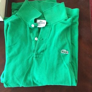 Short sleeve Lacoste polo